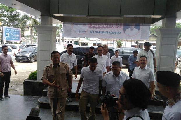 Sandiaga Uno Berbagi Kunci Sukses di Palembang