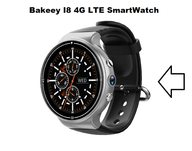 Bakeey I8 4G LTE SmartWatch Specs, price, Features