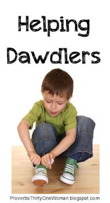 Helping Dawdling Children