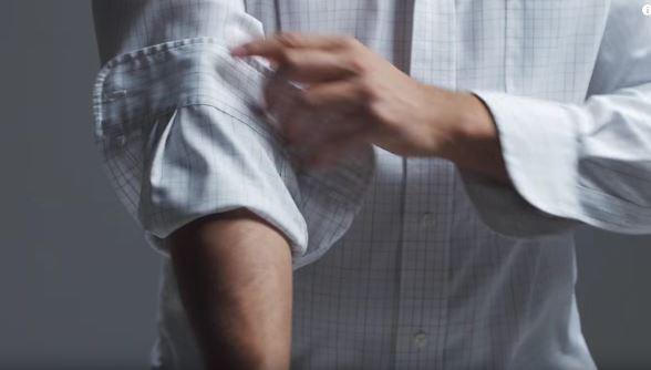 Cara Betul Lipat Lengan Baju Kemeja