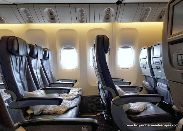 Economy Seats in Saudia Airline