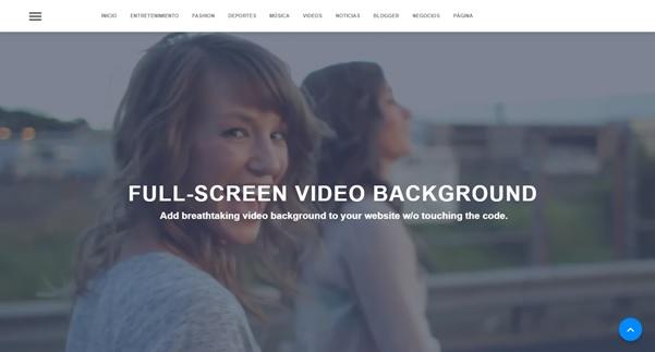 ¿Cómo crear un fondo de video en pantalla completa con AMP?