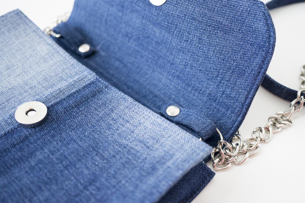 Клатч своими руками из джинсов