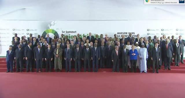 """قمة الاتحاد الإفريقي الاتحاد الأوروبي الـ5 """"ارتقاء بالشراكة الإفريقية مع العالم"""""""