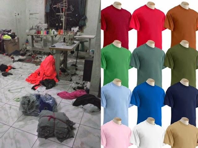 Jasa Produksi Kaos Murah dan Berkualitas di Bandung