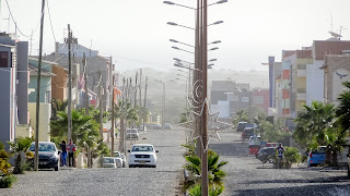 Low traffic in Cape Verde