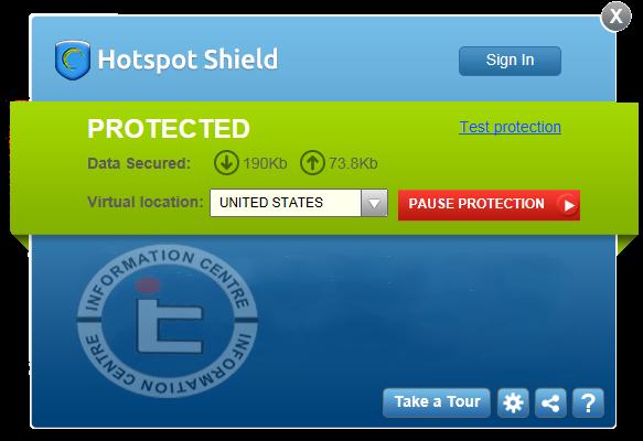 Download Hotspot Shield 4.06