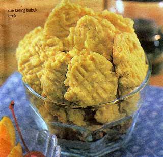 Kue Kering Jeruk