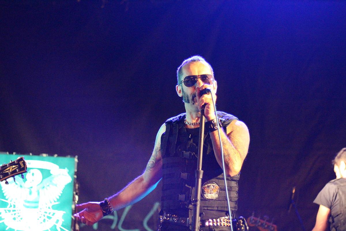 Toni Metralla en las fiestas de Bagatza de 2015