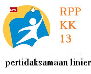 RPP menyelesaikan  pertidaksamaan linier satu variabel