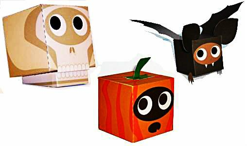 PAPERMAU: Easy-To-Build Halloween Paper Toys For Kids - by Paper Box ...
