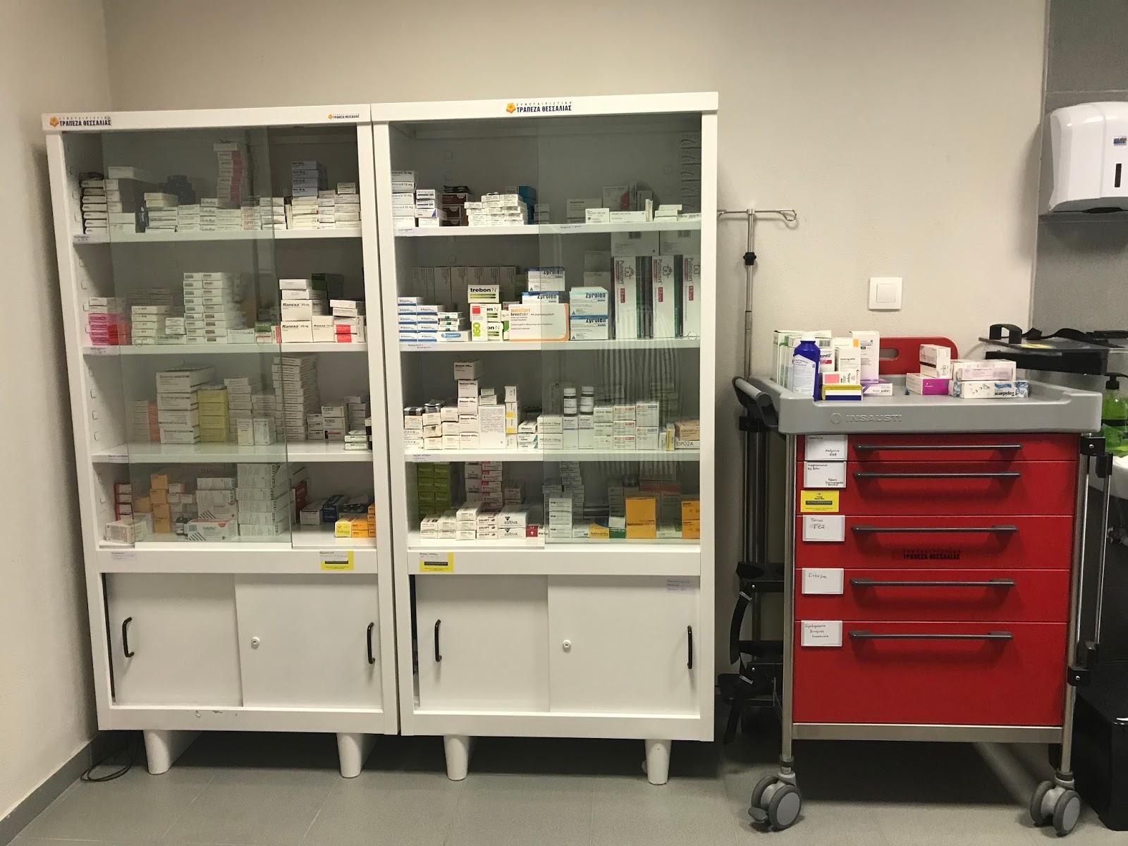Ξεκινάει την λειτουργία του το Κοινωνικό Φαρμακείο του Δήμου Λαρισαίων