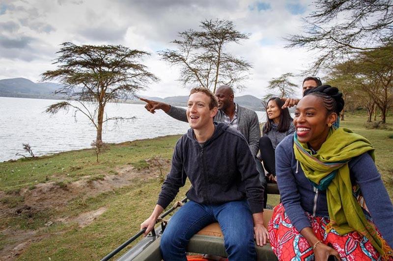 Mark Zuckerberg continues Kenyan tour despite $200m satellite explosion