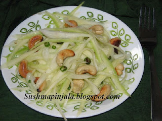 Mango Salad with Cashew