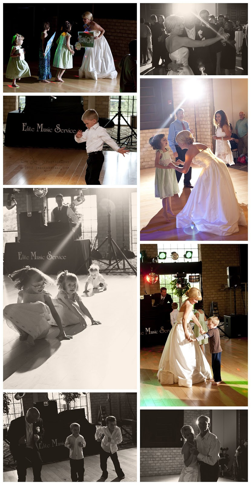 Music by Elite Music Service, photos by green bay wedding photographer Casi Lea Photography