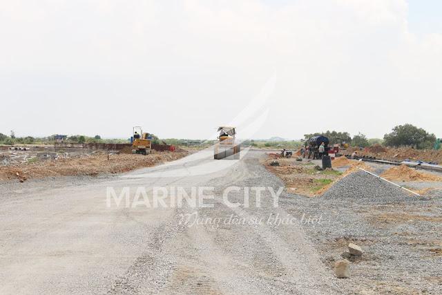 Tiến độ khu đô thị Marine City