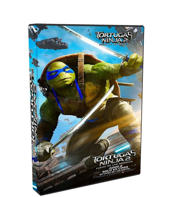 Tortugas Ninja 2 Fuera de las sombras poster box cover