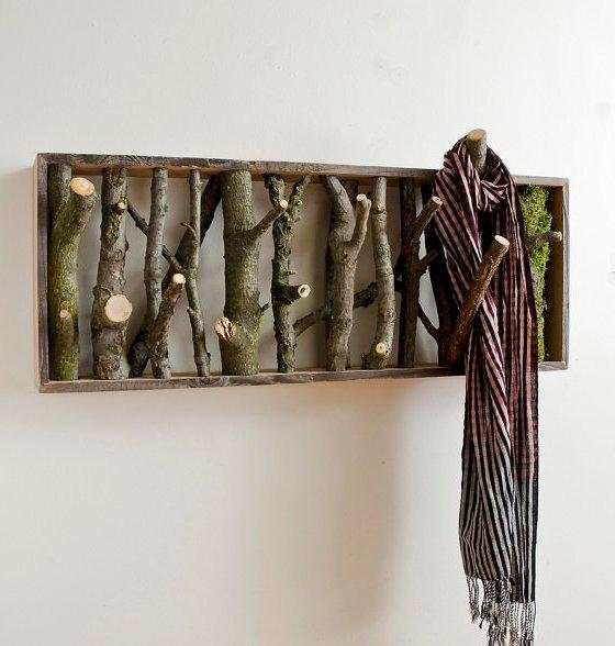 Dishfunctional Designs Branching Out Art Decor From Wood - Beautiful diy birch bark lamp