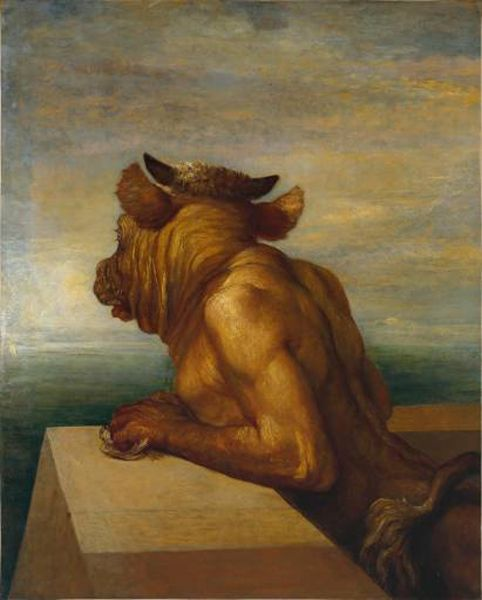 The Minotaur of Crete George Frederick Watts
