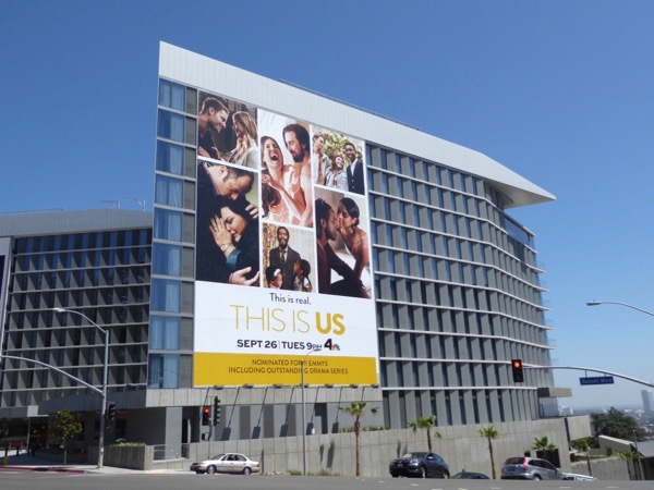 This Is US season 1 Emmy nominations billboard