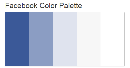 Facebook Color Palette Elegan