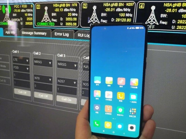 Xiaomi Mi MIX 3 Supports 5G Data Connection