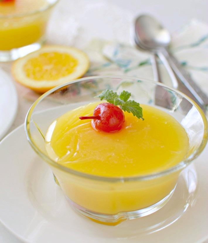 Resultado de imagen para Manjar de naranja con maicena