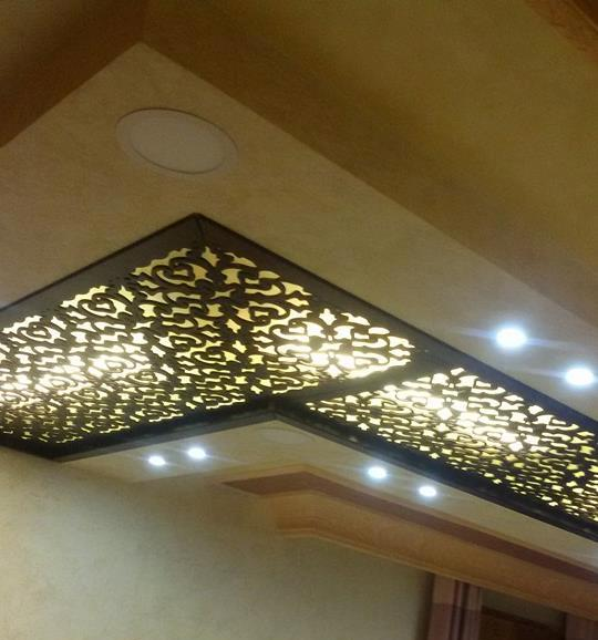 Cnc Kitchen Design: 16 Modern CNC False Ceiling Corner Designs Ideas