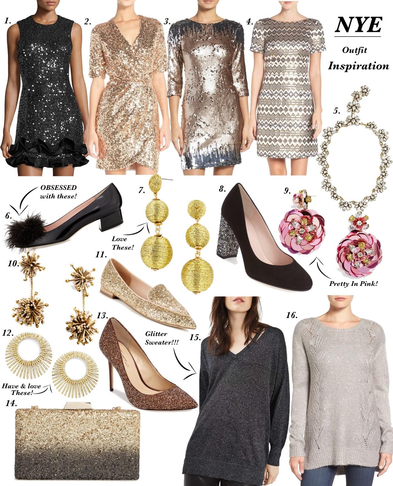 NYE Outfit Inspiration - Something Delightful Blog