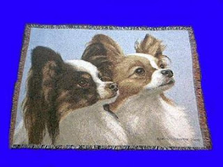 papillon blanket throw tapestry