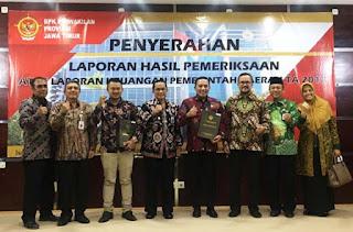 Sampang Dapat Opini WTP dari BPKP Jawa Timur