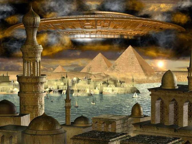 Evidence of UFO sightings in antiquity