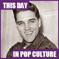 Elvis was inducted into the US Army on March 24,1958.