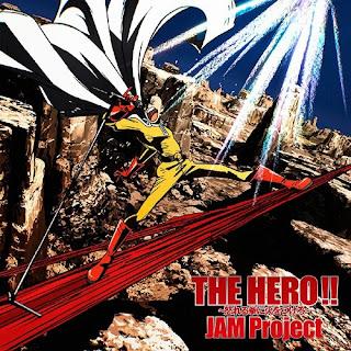 Funime The Hero Ikareru Kobushi Ni Hi Wo Tsukero Jam Project One Punch Man Op