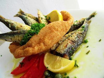 Srdele u lepinji / Sardines in the bun