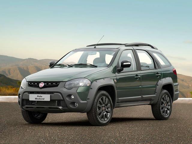 Fiat Weekend - mesmo fora de linha, vende 4.400% mais em outubro