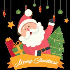 Happy Holidays Music Stickers
