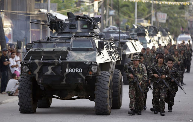 Selamatkan WNI Militer Filipina Turunkan Tiga Batalion Kepung Abu Sayyaf