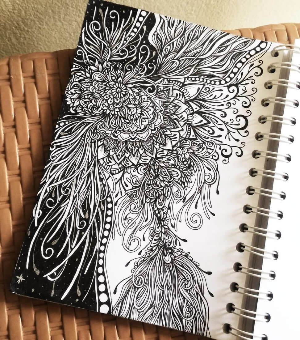 02-Widya-Rahayu-Intricate-Doodles-and-Zentangle-Drawings-www-designstack-co