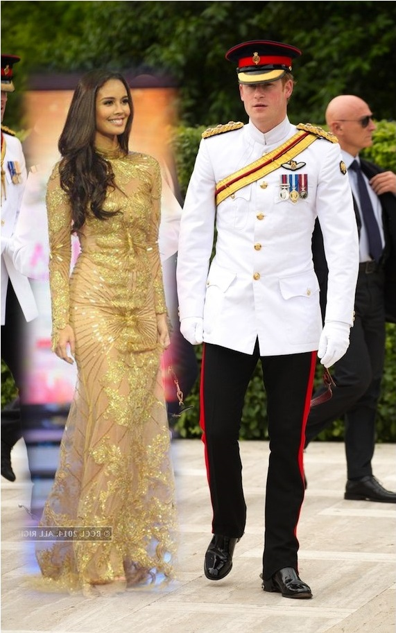 innate thinker reboot prince harry and miss world megan young prince harry and miss world megan young