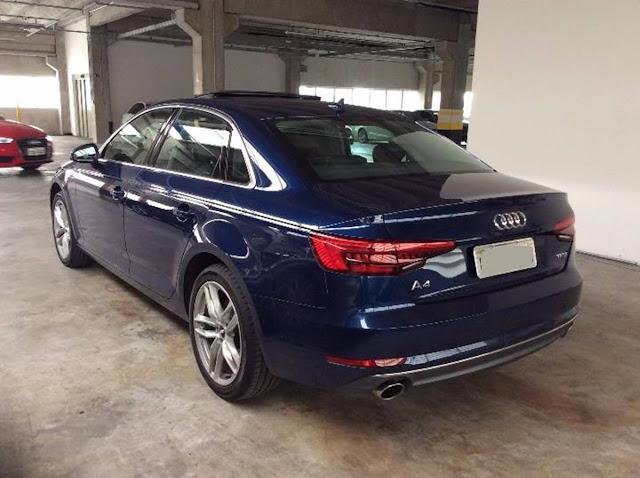 Audi A4 Sedan 2017 Lauch Edition
