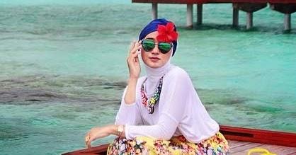 Model Baju Renang Ala Dian Pelangi Terbaru 2017