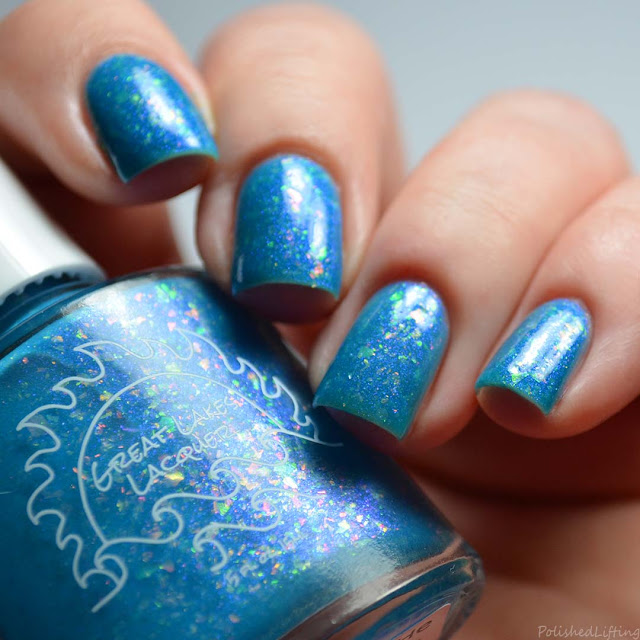 blue thermal nail polish