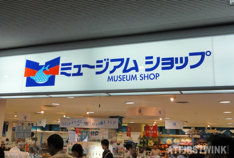 Osaka Aquarium Kaiyukan museum shop