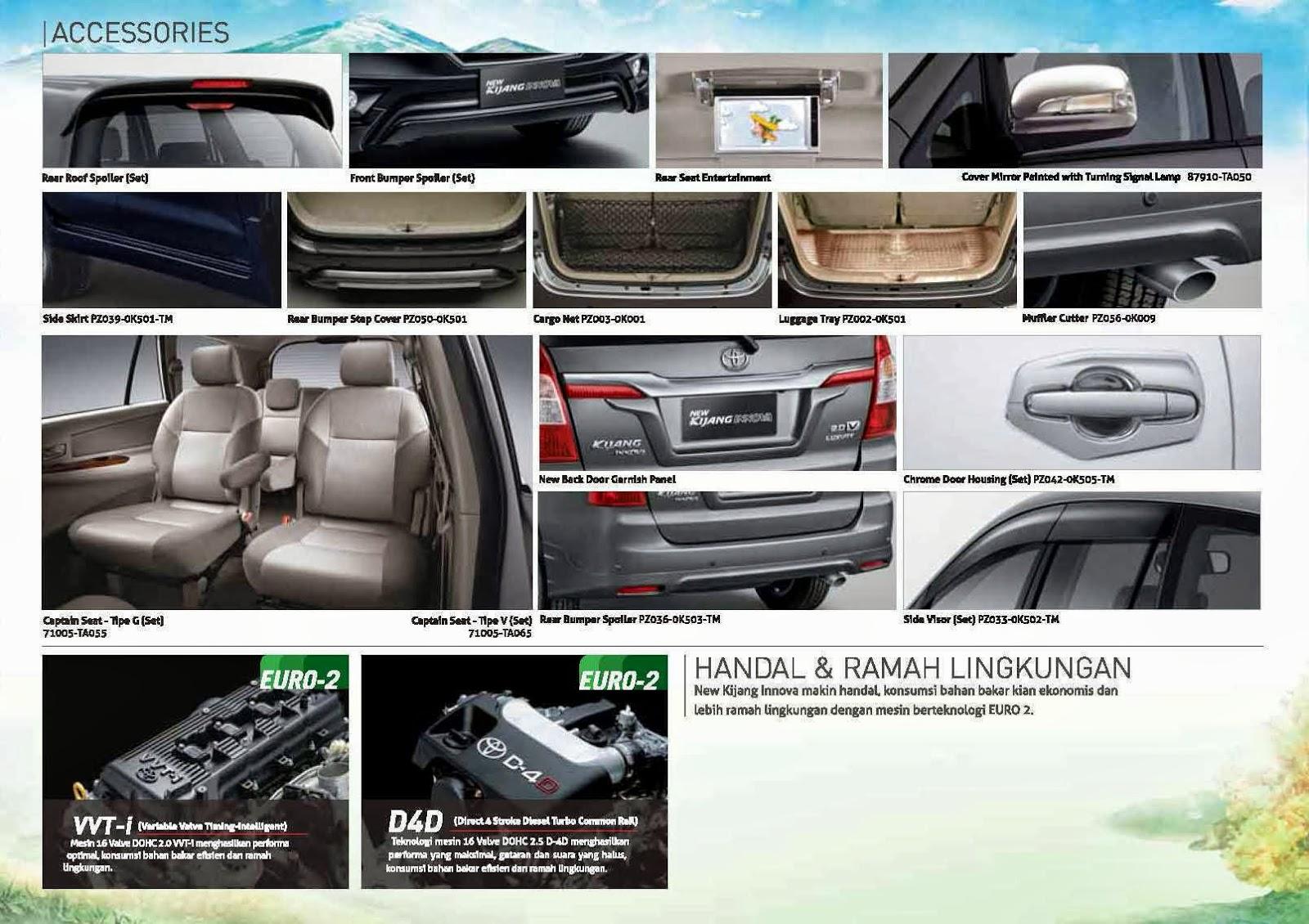Interior New Innova Venturer Toyota Yaris Trd Heykers Brosur Kijang 2015 Grill