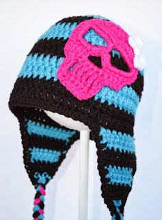Skull Earflap Hat at Over the Apple Tree