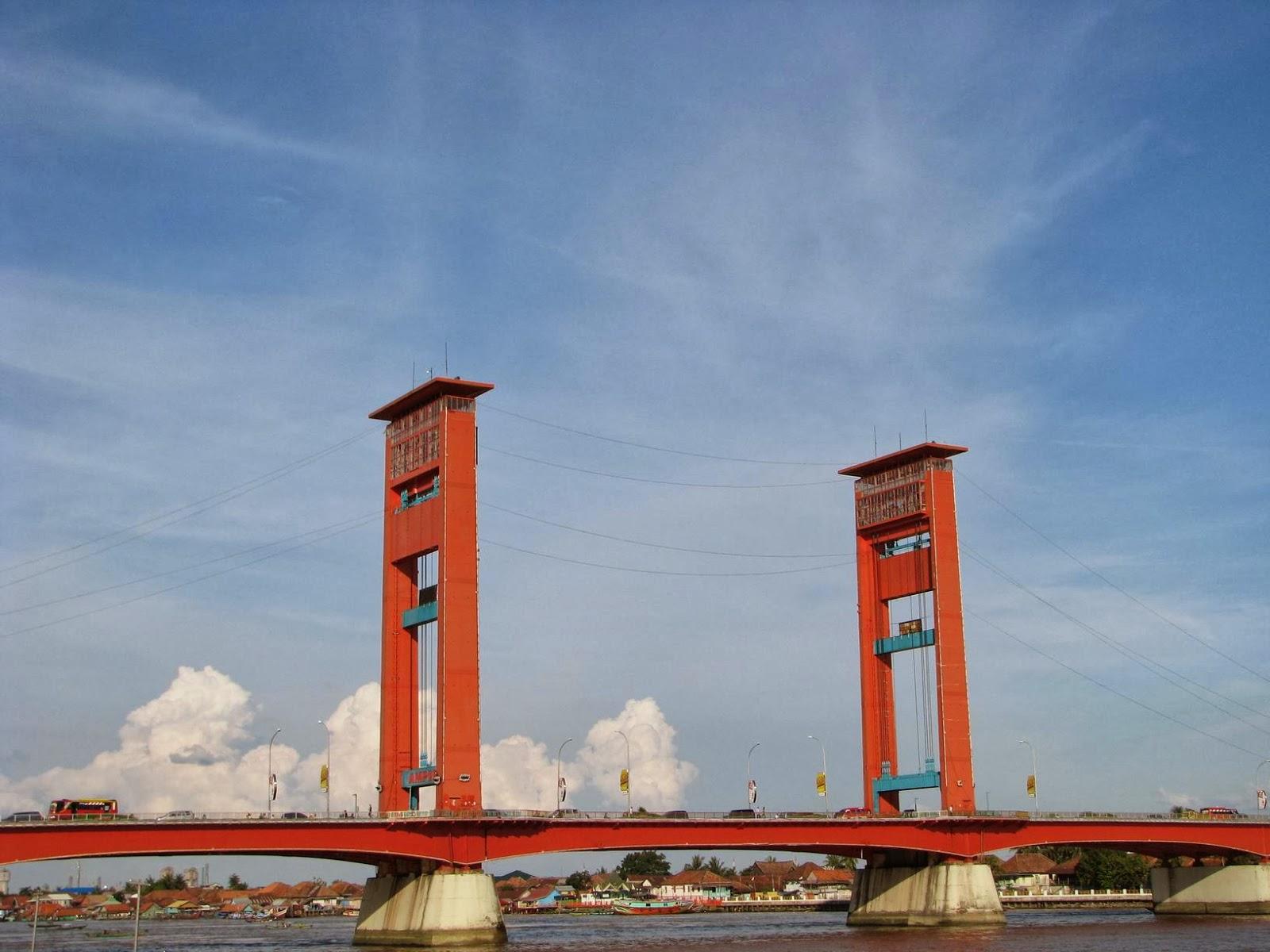 struktur sejarah dan keistimewaan jembatan ampera