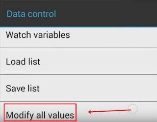 Modify All Value