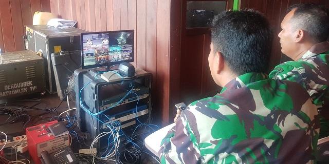 TNI Gelar Komunikasi Hingga ke Pedalaman Asmat