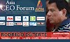 Asia CEO Forum June 25 : Hear Mayor Rodrigo Duterte in Makati